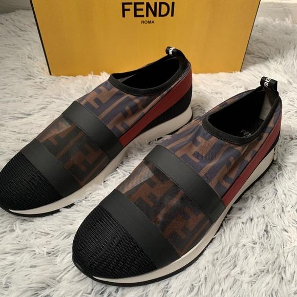 Fendi Shoes | Nwt Ladies Fendi Sneakers